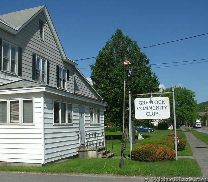 Parking at Greylock Community Club