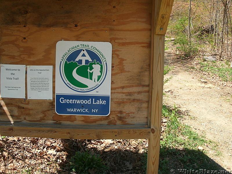 Terminus of Village Vista Trail, Greenwood Lake, NY