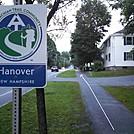 Coming into Hanover NH