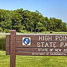 High Point SP Sign -- AT is to your right by GoldenBear in Trail & Blazes in New Jersey & New York