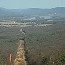 View for pipeline corrider at Cove Mountain by GoldenBear in Views in Maryland & Pennsylvania