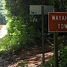 Wayah Gap Parking