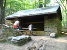 Pinefield Hut by DAKS in Virginia & West Virginia Shelters