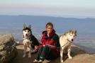 Beth and Dogs by Cosmic Crusader in Views in Virginia & West Virginia