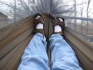 Inside Photo by HikerRanky in Hammock camping