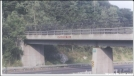 AT crossing over Mass Pike by Hammock Hanger in Sign Gallery