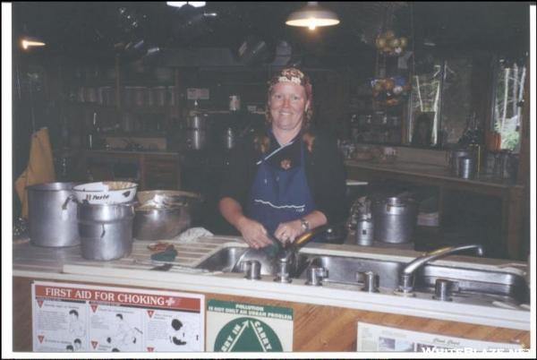 Dish Duty @Lonesome Lake Hut, Whites, NH