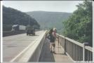 Hammock Hanger crosses the Delaware River Bridge