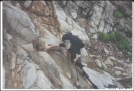 Climbing up Lehigh Gap
