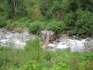 Swinging Bridge In Lake Chelan / Sawtooth Wilderness, Wa