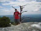 The Chimneys, Linville Gorge, Mountains to Sea Trail by wilconow in Other Trails