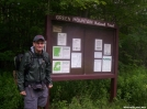 Me starting out below Bromley Mountain. Section hike to Hanover by wilconow in Section Hikers