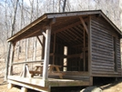 Paul Wolfe Shelter by wilconow in Virginia & West Virginia Shelters