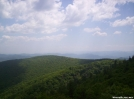 View from Exposed Ridge Trail, north of Little Laurel Shelter by wilconow in Views in North Carolina & Tennessee