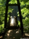 Suspension bridge over the Tye River by wilconow in Trail & Blazes in Virginia & West Virginia