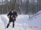 Winter backpacking by spanish in Other