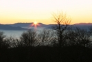 Sunrise Bobs Bald by Hoppin John in Trail & Blazes in North Carolina & Tennessee
