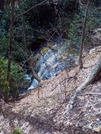 Falls Along Shinning Rock Creek Trail by Summit in Views in North Carolina & Tennessee