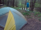 Camping Within Feet Of Laurel Fork Falls by Summit in Other Trails