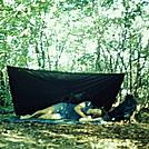 First backpacking trip, circa 1973