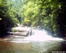 Turtleback Falls, Horsepasture River Gorge by halibut15 in Other Galleries