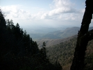 Smokies Near Charlie's Bunion by Pony in Views in North Carolina & Tennessee