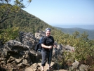 Chris On Little Hogback by Pony in Section Hikers