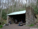 cosby knob shelter by mikethulin in North Carolina & Tennessee Shelters