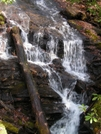 Waterfall Near Franklin Road Crossing by nightshaded in Trail & Blazes in North Carolina & Tennessee