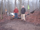Camp Morning by Scrapes in Section Hikers