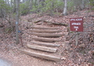 Approach Trail by Scrapes in Trail & Blazes in Georgia
