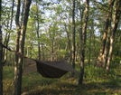 My House by Scrapes in Hammock camping