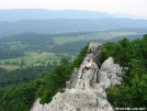 Relaxing on Dragon\'s Tooth by hiker5 in Views in Virginia & West Virginia