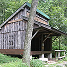 Cove Mountain shelter