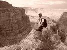 Mtt37849 Hiking; 3 Miles Down From The South Rim