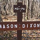 Mason Dixon line by Ezra in Trail & Blazes in Maryland & Pennsylvania