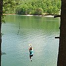 Watauga Lake rope swing by Pemmy in Special Points of Interest