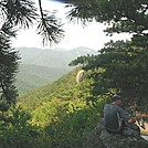 Snack break with a view in SNP by johnnybgood in Views in Virginia & West Virginia