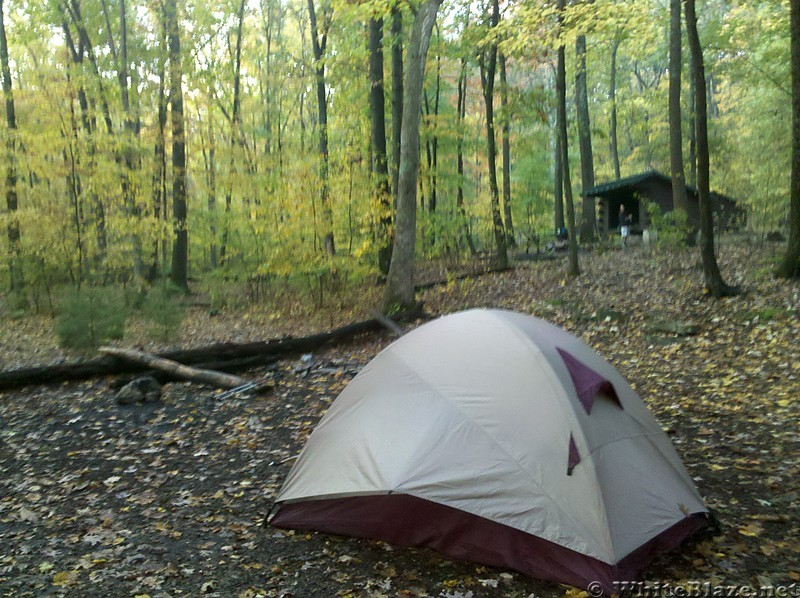 Tom's Runs Shelter, PA.