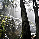 Sun beams light up the forest by johnnybgood in Views in Virginia & West Virginia
