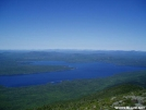 Flagstaff lake by shades of blue in Trail & Blazes in Maine