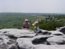 Frau and Nessmuk, Dolly Sods, WV summer '07 by Frau in Other