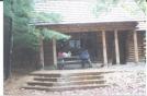 Partnership Shelter - Front by Hammock Hanger in Virginia & West Virginia Shelters