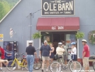 Getting bikes at the Ole Barn... by Hammock Hanger in Virginia & West Virginia Trail Towns