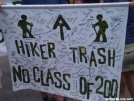 Class of 2001, banner by Hammock Hanger in Virginia & West Virginia Trail Towns