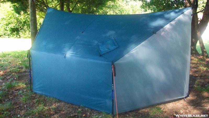Diy Car Shelter Camping : My diy smokehouse winter shelter whiteblaze gallery