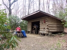 Flint Mtn. Shelter by HikerMan36 in North Carolina & Tennessee Shelters