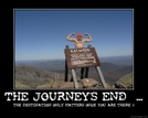 Journey's End  ... by Footslogger in Thru - Hikers