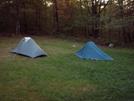 Our Tents At Mashipacong Shelter