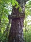 Eckville Sign, 2.7 More Miles! 08-23-08 by darkage in Trail & Blazes in Maryland & Pennsylvania